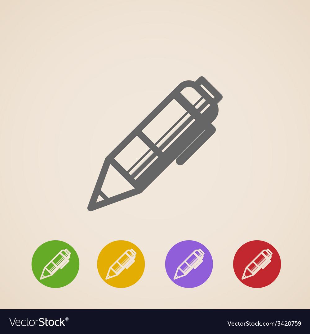 Pencil icons vector | Price: 1 Credit (USD $1)