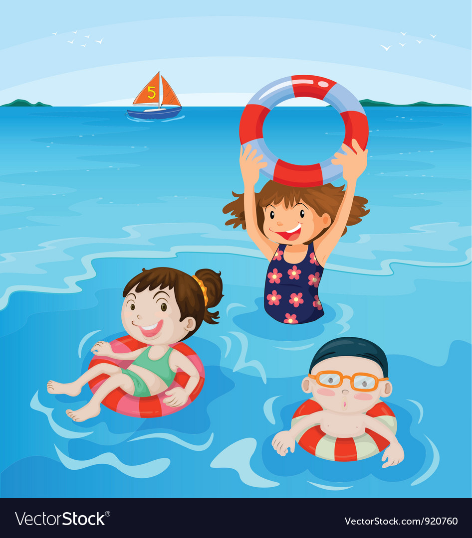 Beach fun vector | Price: 3 Credit (USD $3)