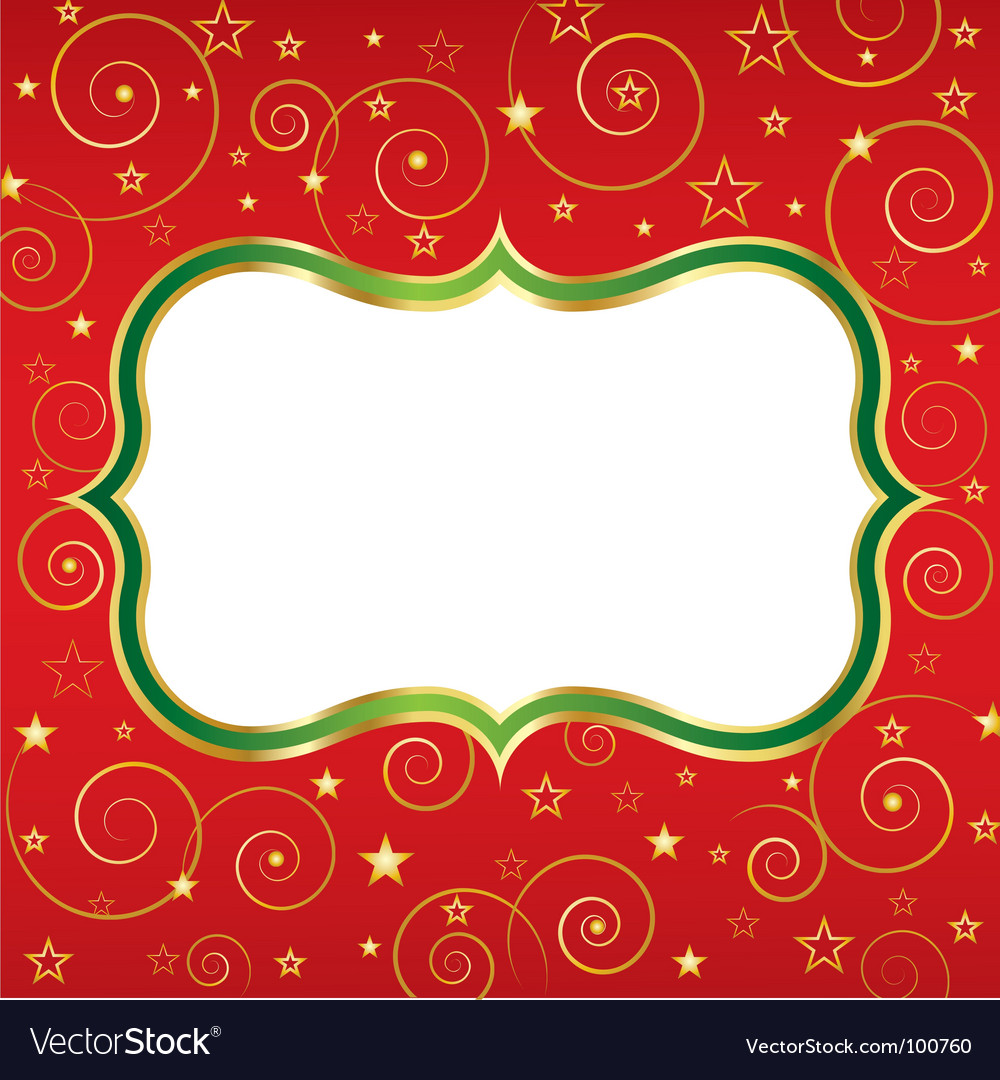 Christmas background red vector | Price: 1 Credit (USD $1)