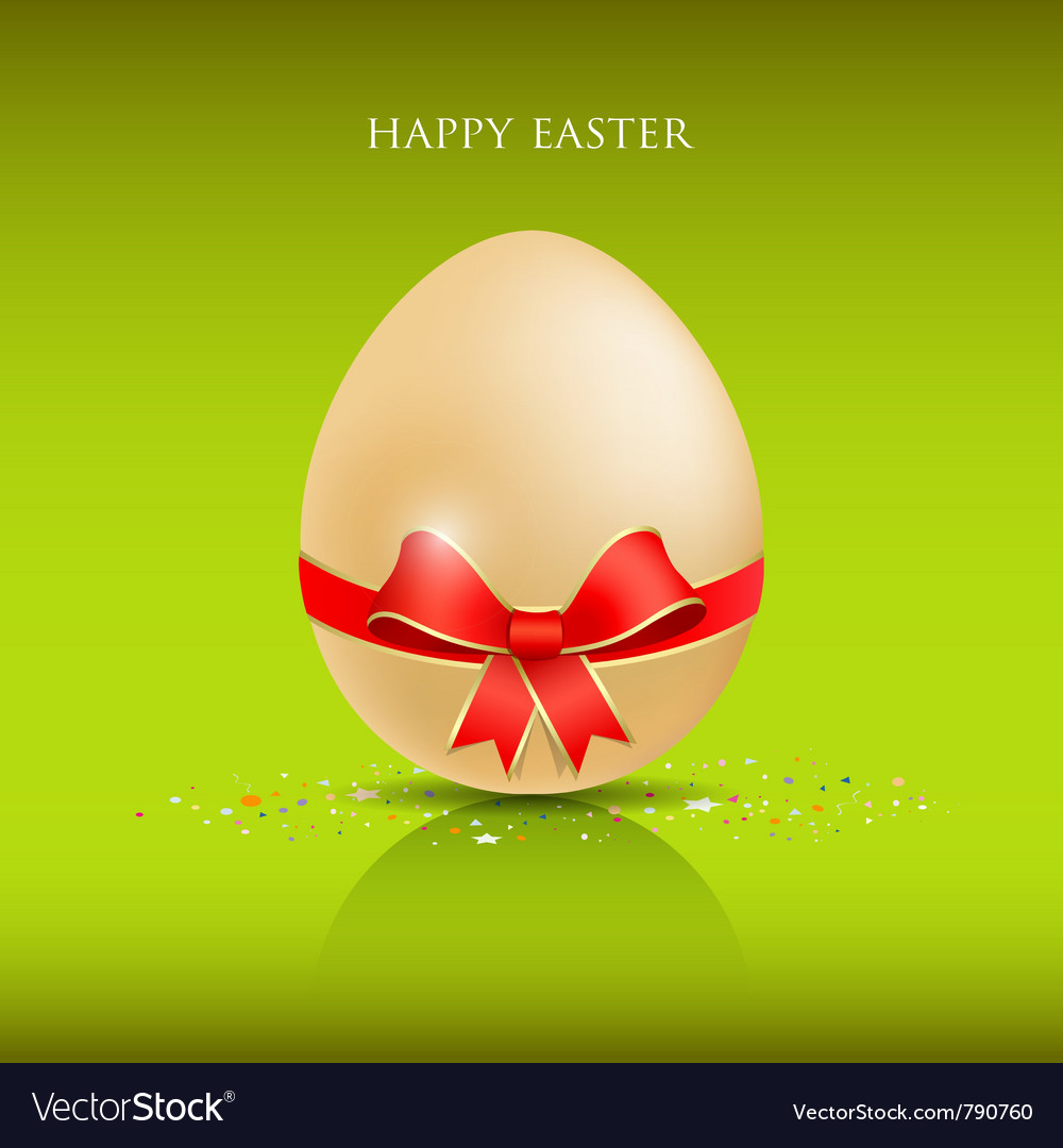 Happy easter egg vector | Price: 3 Credit (USD $3)