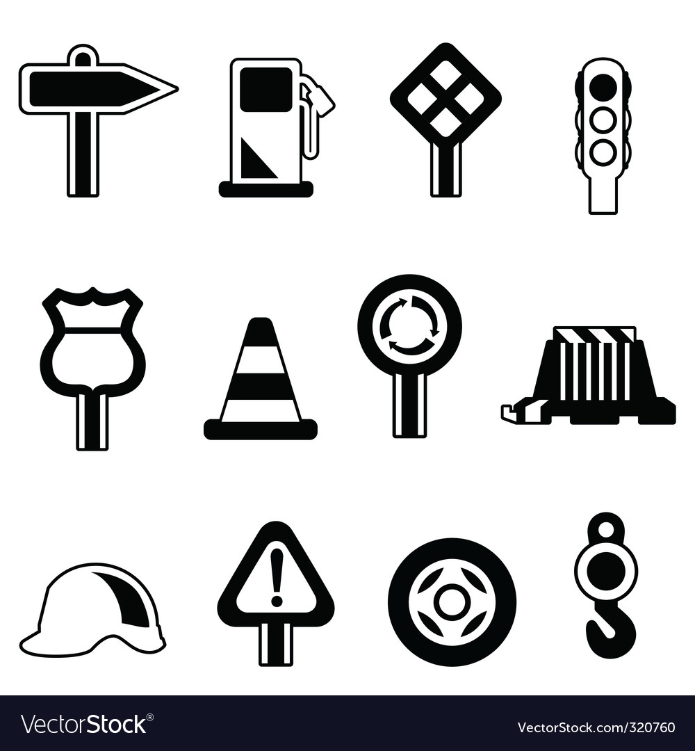 Traffic icon vector | Price: 1 Credit (USD $1)