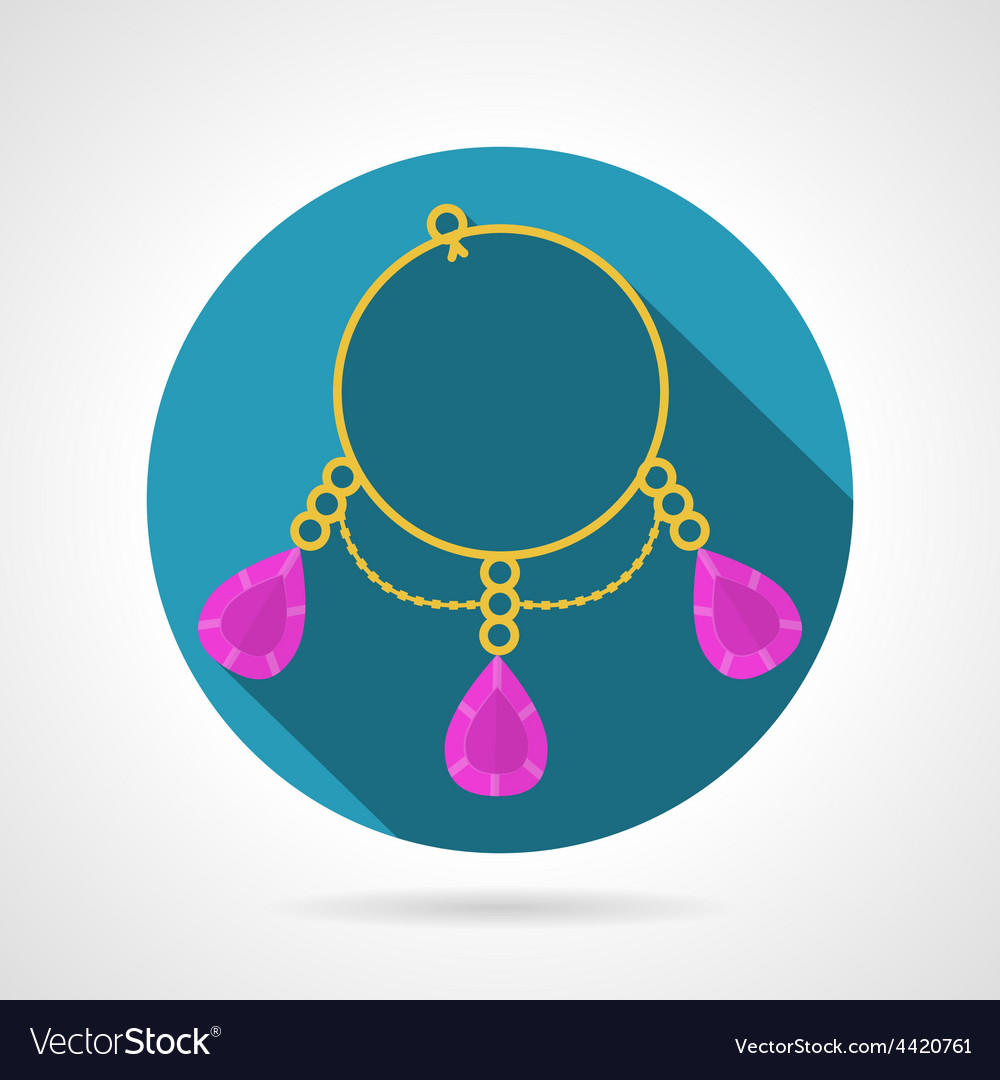 Bracelet colored icon vector | Price: 1 Credit (USD $1)