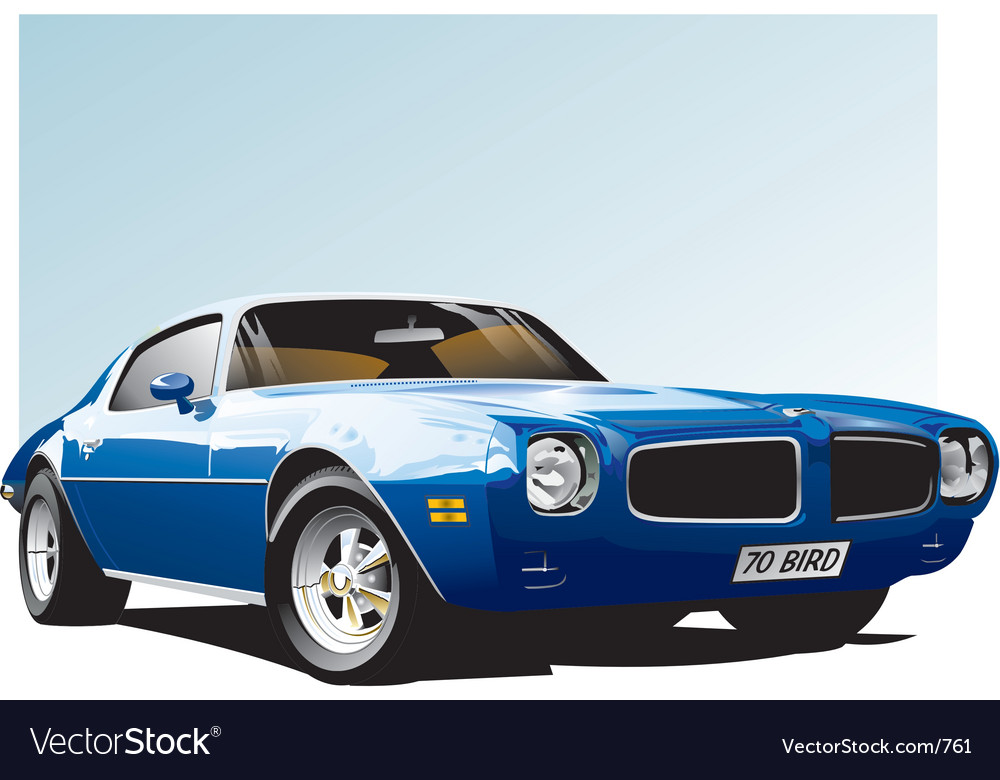 Classic firebird vector | Price: 5 Credit (USD $5)