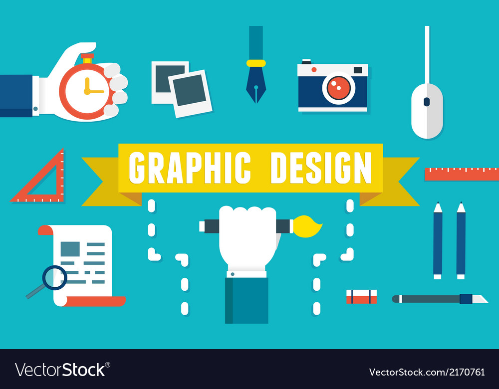 Concept of equipment for design vector | Price: 1 Credit (USD $1)