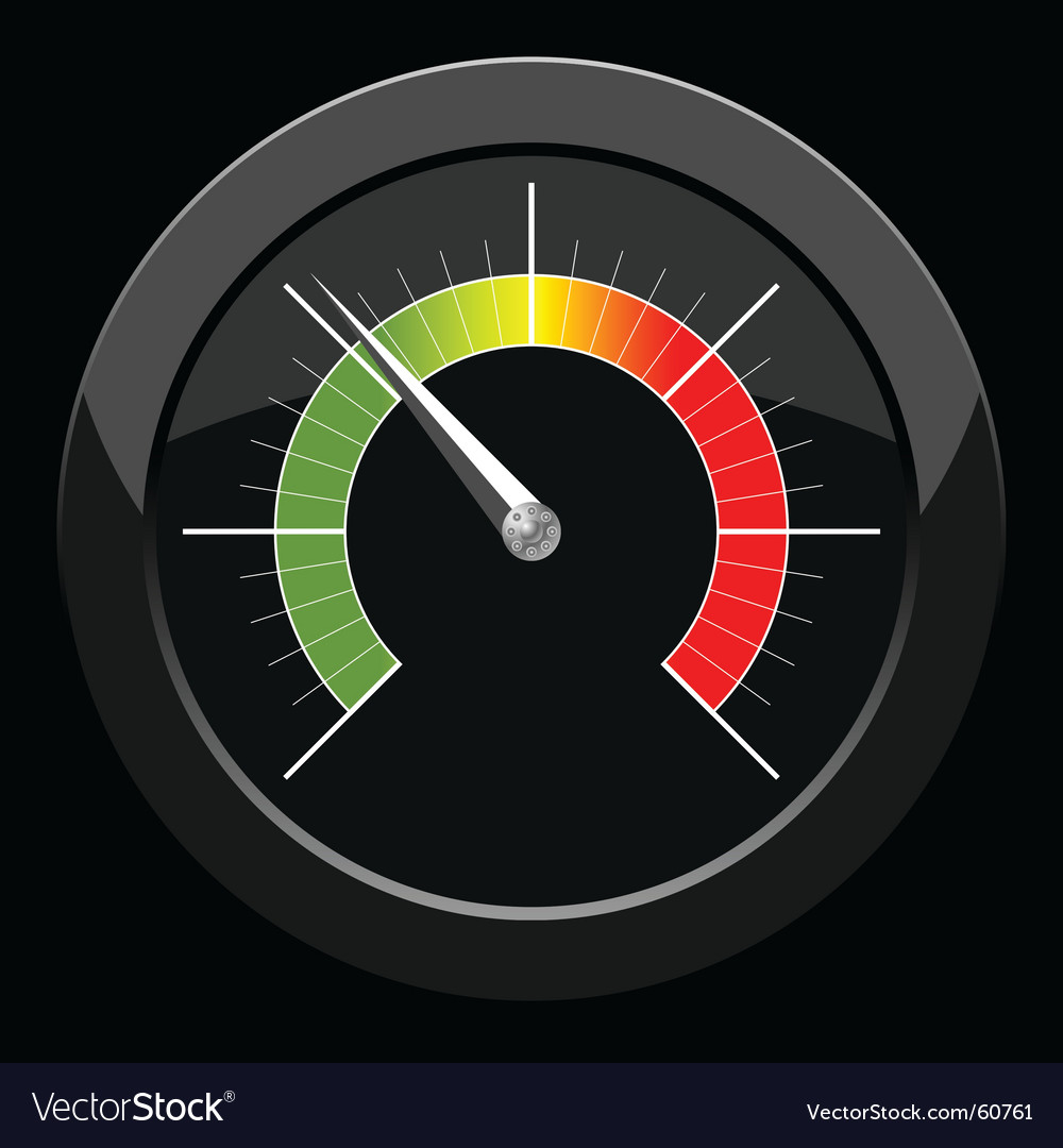 Manometer vector | Price: 1 Credit (USD $1)