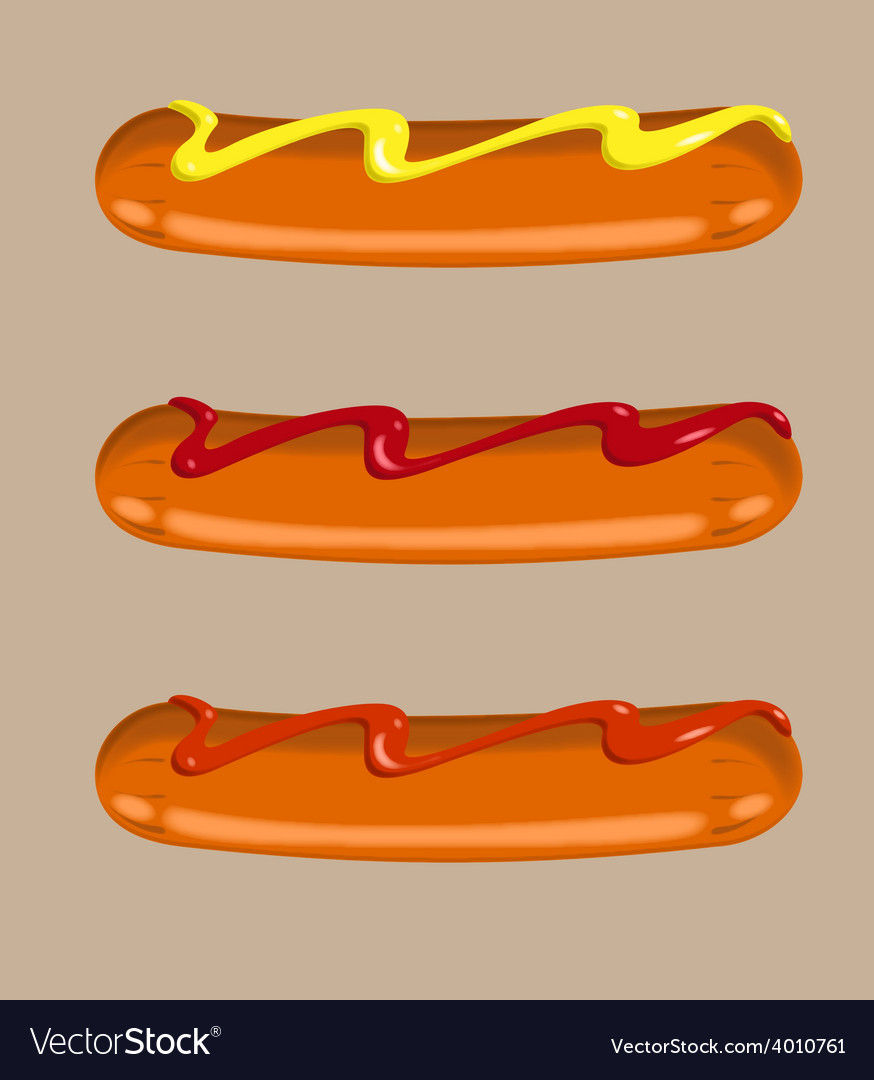 Sausages vector | Price: 1 Credit (USD $1)