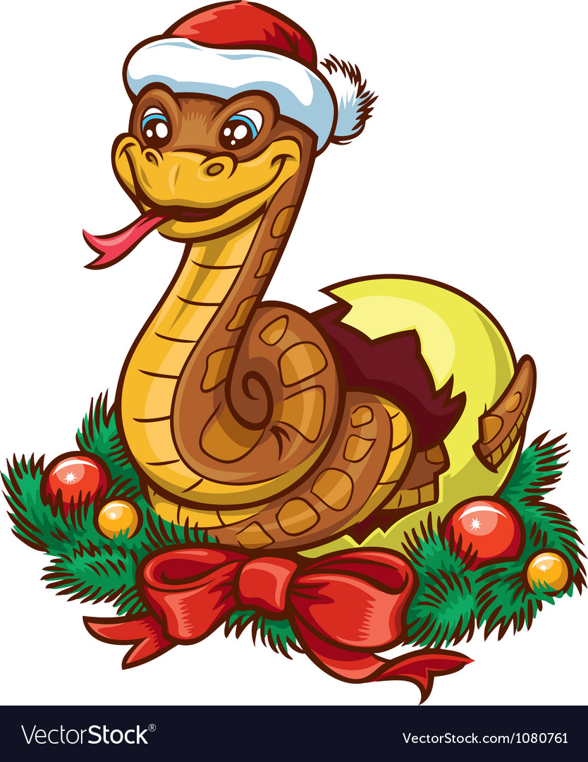 Snake cartoon vector | Price: 3 Credit (USD $3)