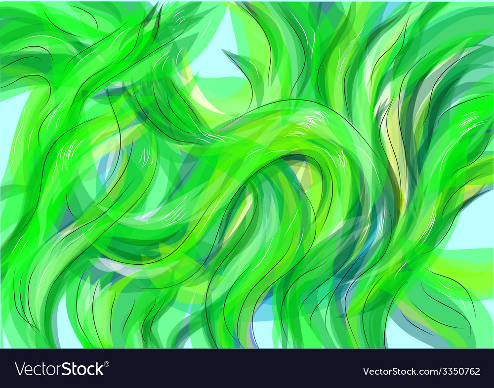 Seaweed vector | Price: 1 Credit (USD $1)