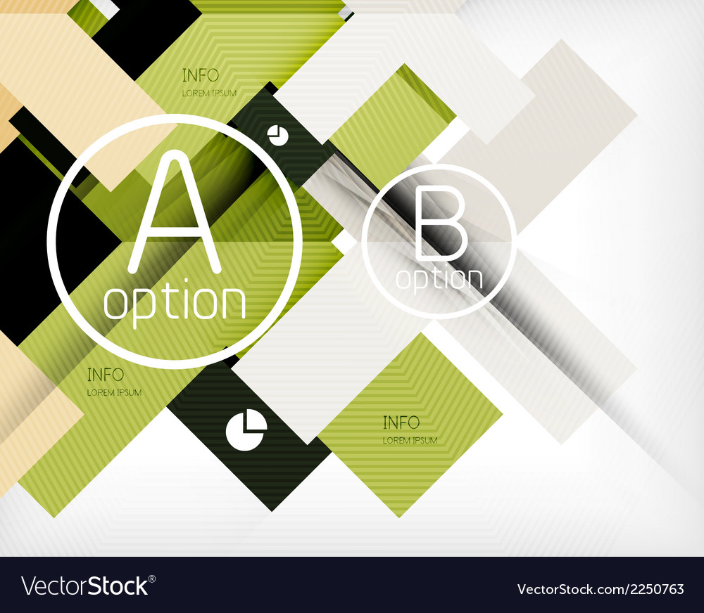 Abstract infographic background vector | Price: 1 Credit (USD $1)