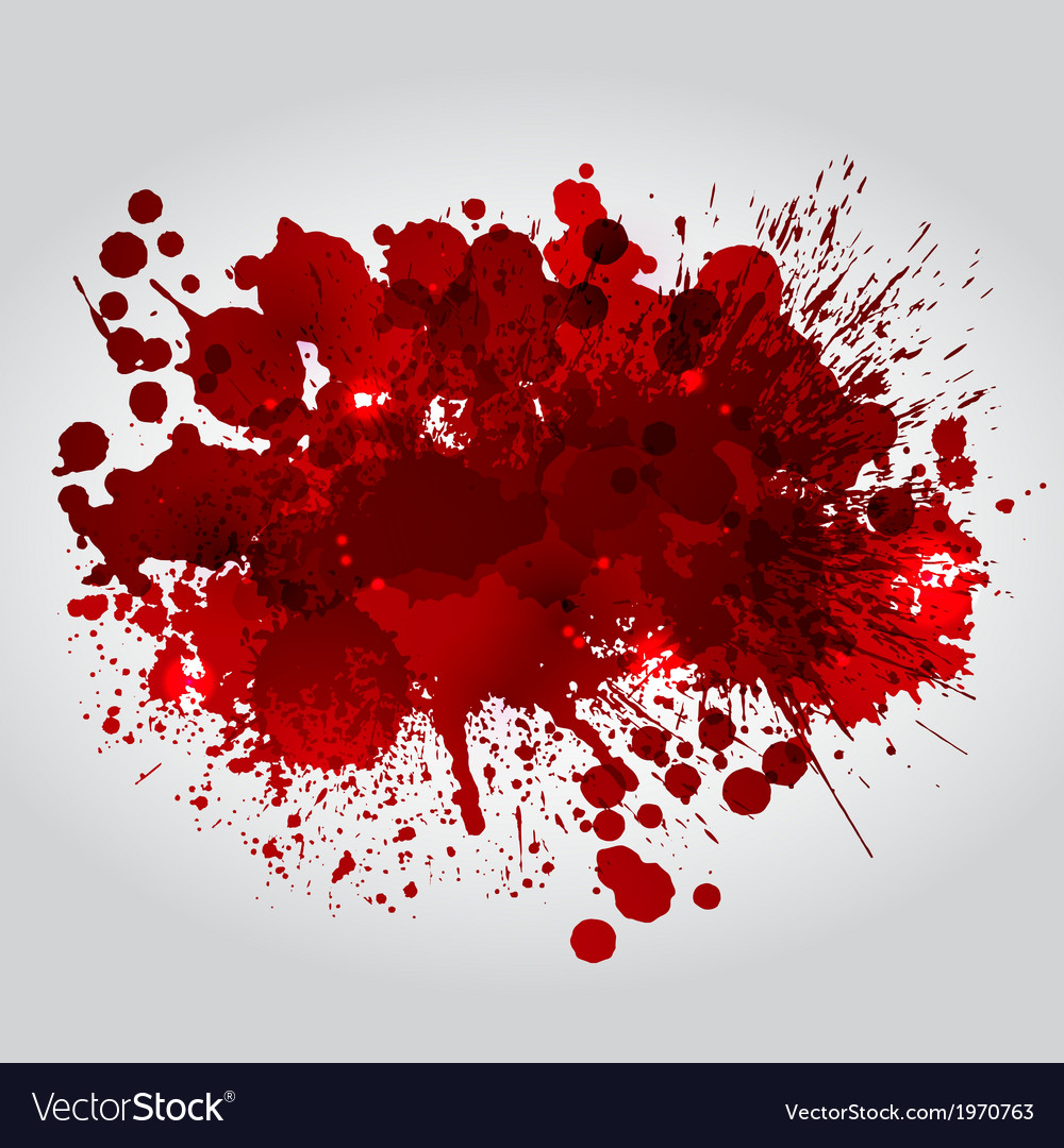 Background with red blots vector | Price: 1 Credit (USD $1)
