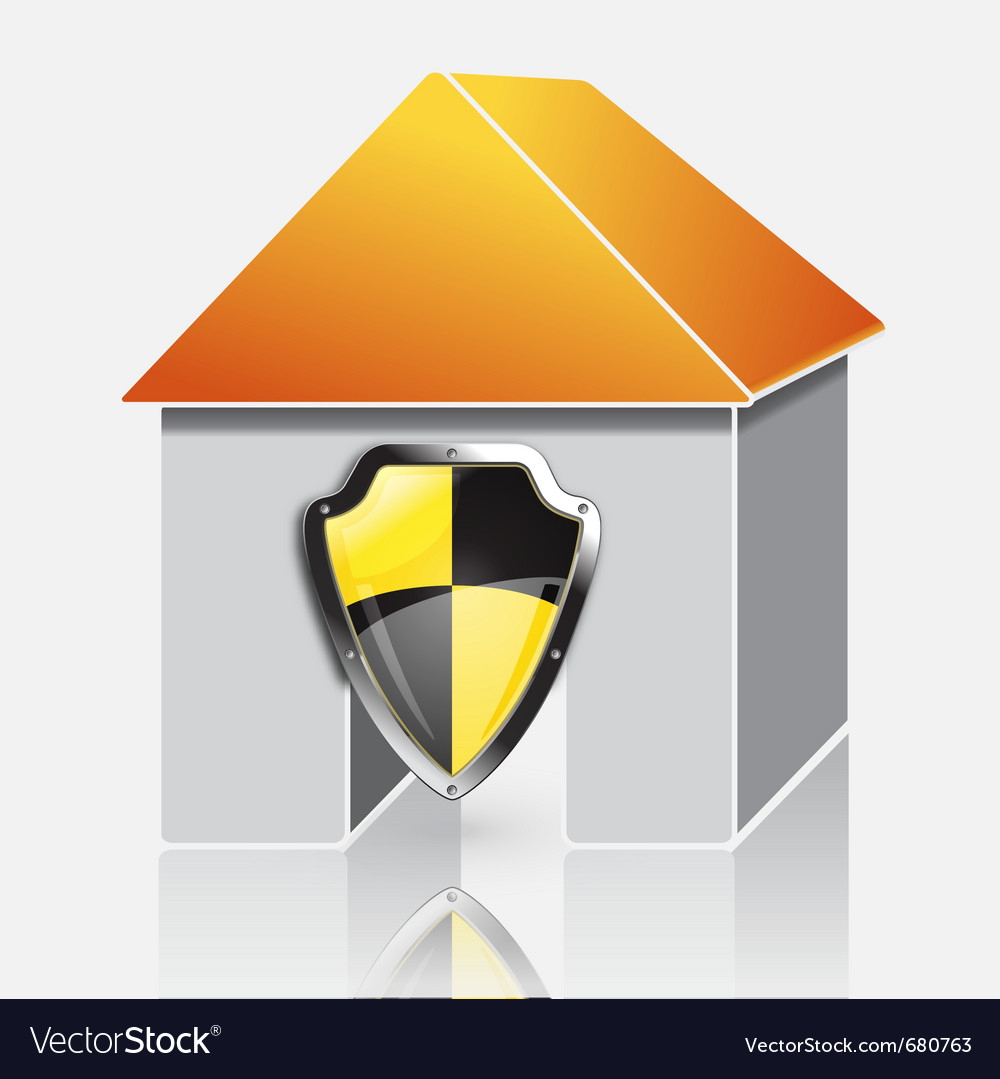 Home protection concept vector | Price: 1 Credit (USD $1)