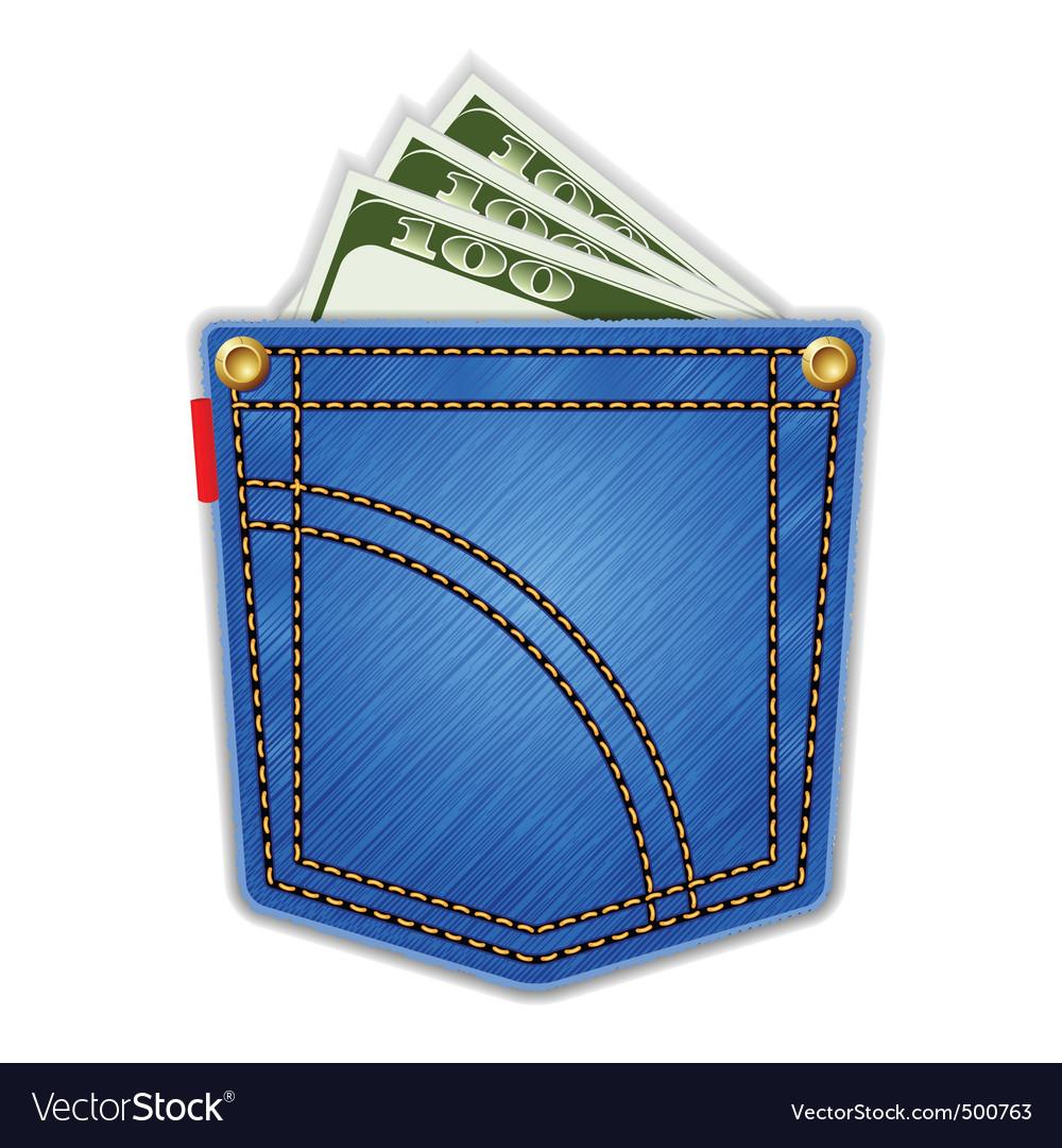Jeans pocket vector   Price: 1 Credit (USD $1)