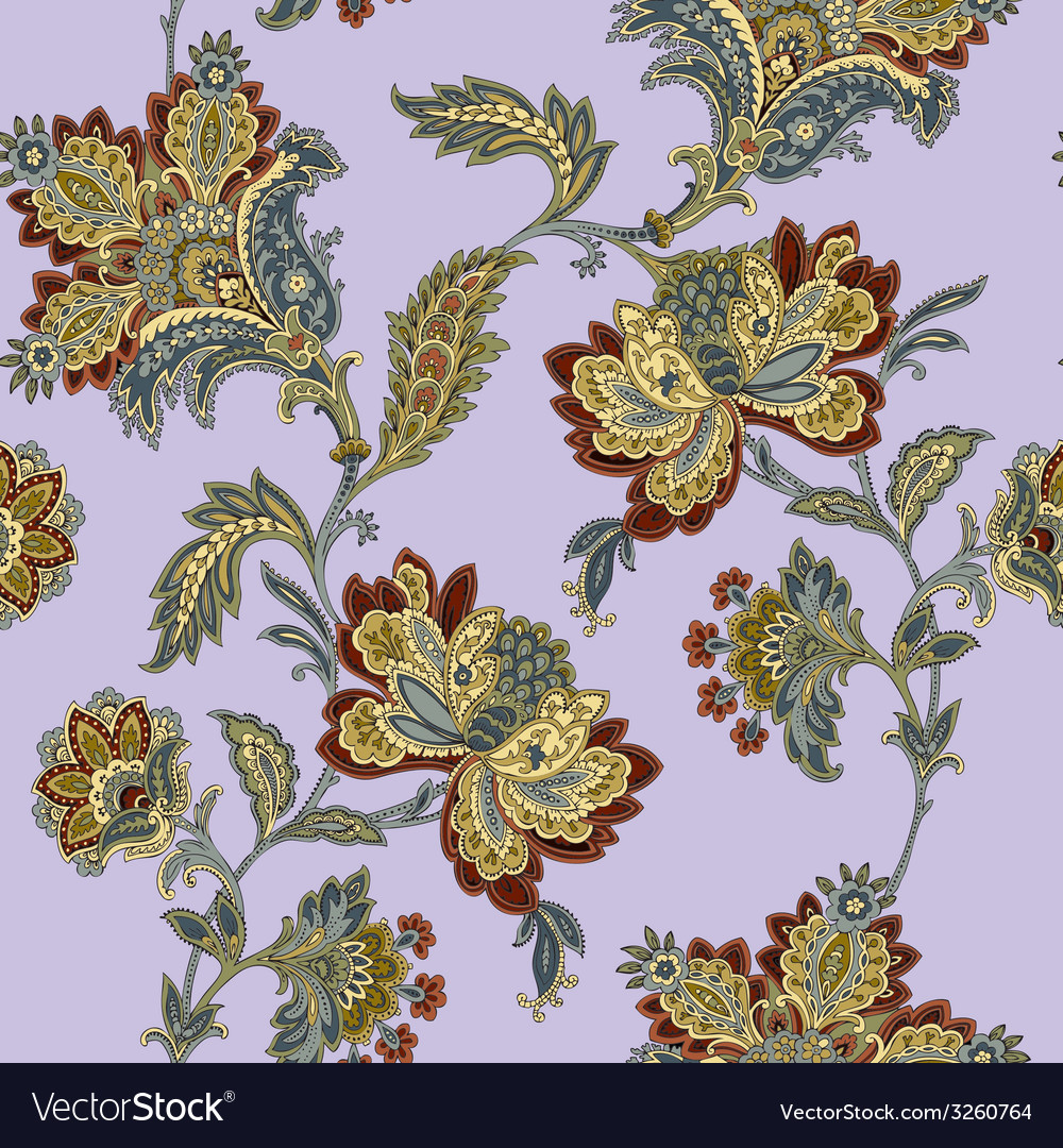 Elegance seamless pattern with flowers roses flor vector   Price: 1 Credit (USD $1)