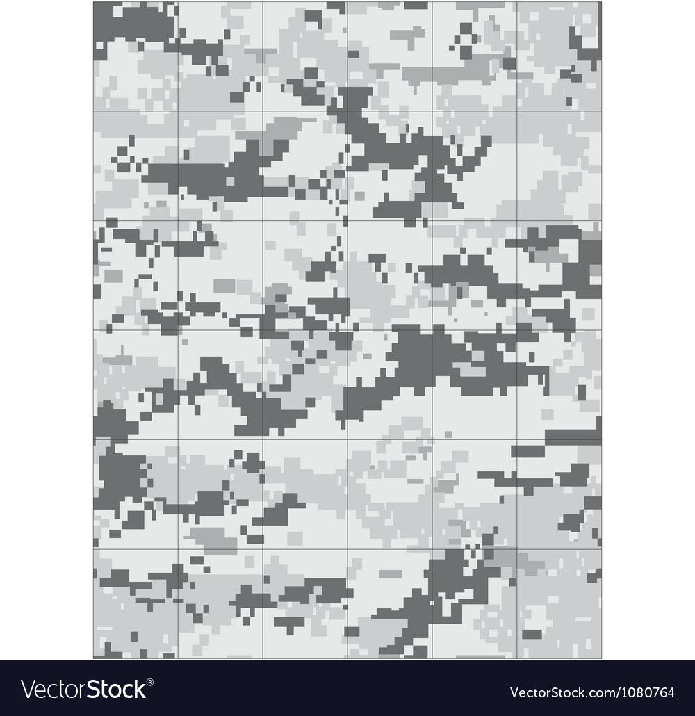 Military snow camo tileable vector | Price: 1 Credit (USD $1)