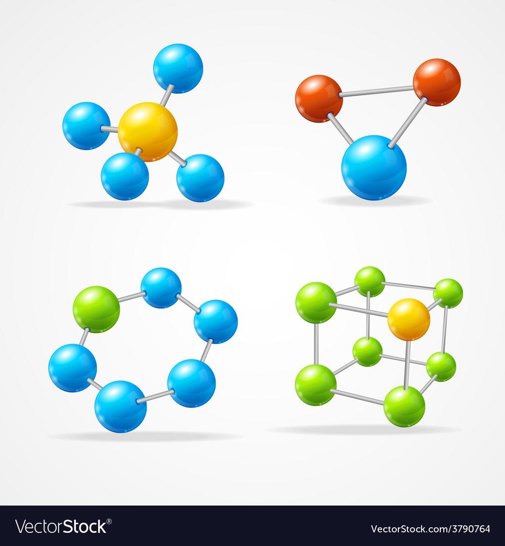 Molecule set vector   Price: 1 Credit (USD $1)