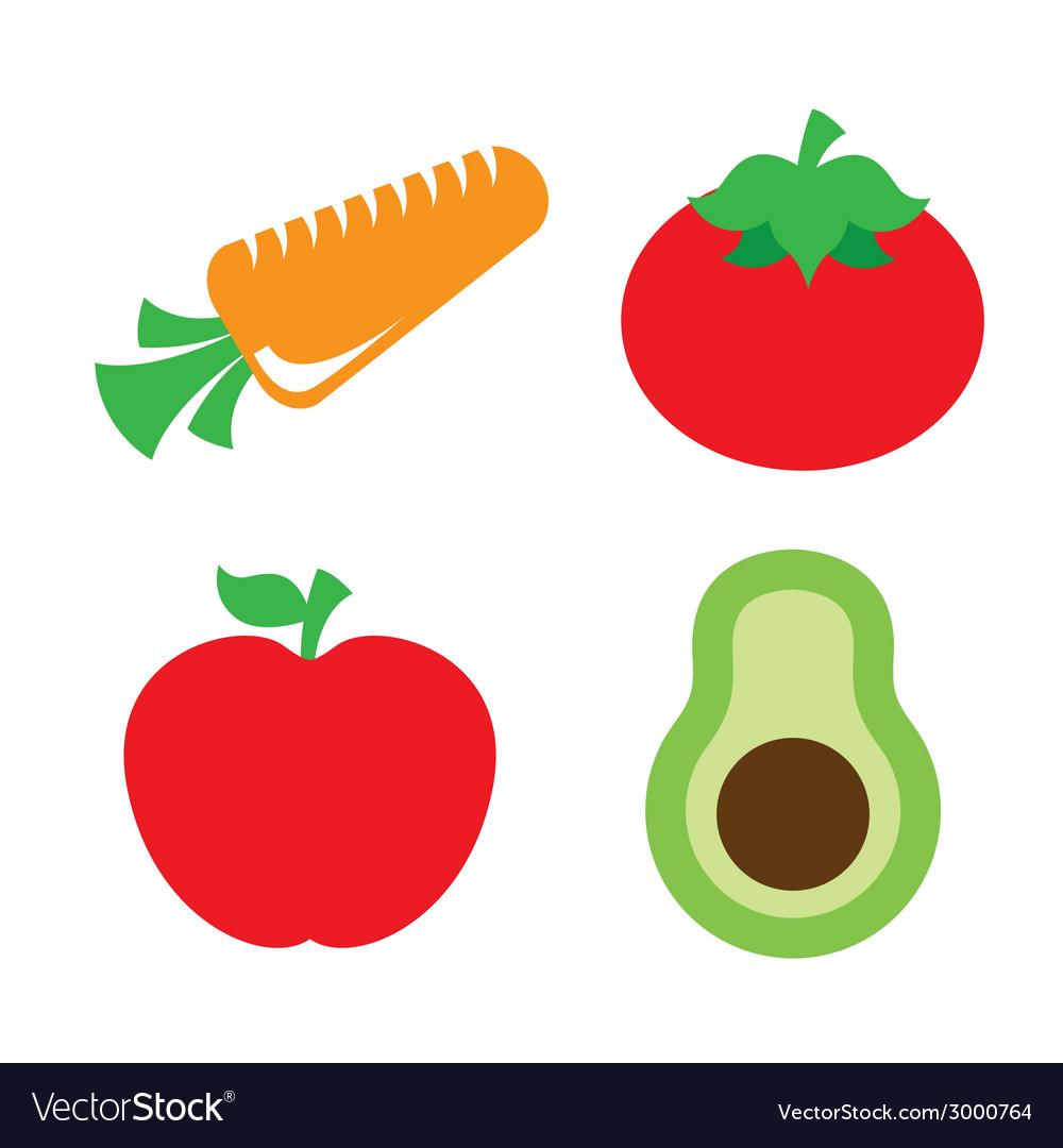 Vegetables design vector | Price: 1 Credit (USD $1)