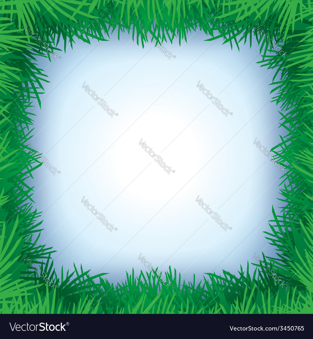 Christmas tree frame vector | Price: 1 Credit (USD $1)