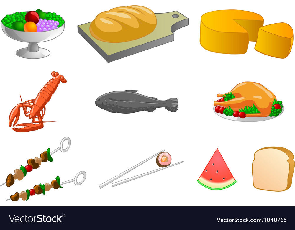 General food products vector | Price: 1 Credit (USD $1)
