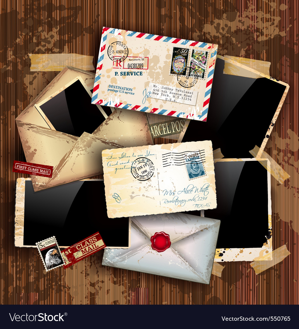Vintage collage vector | Price: 1 Credit (USD $1)
