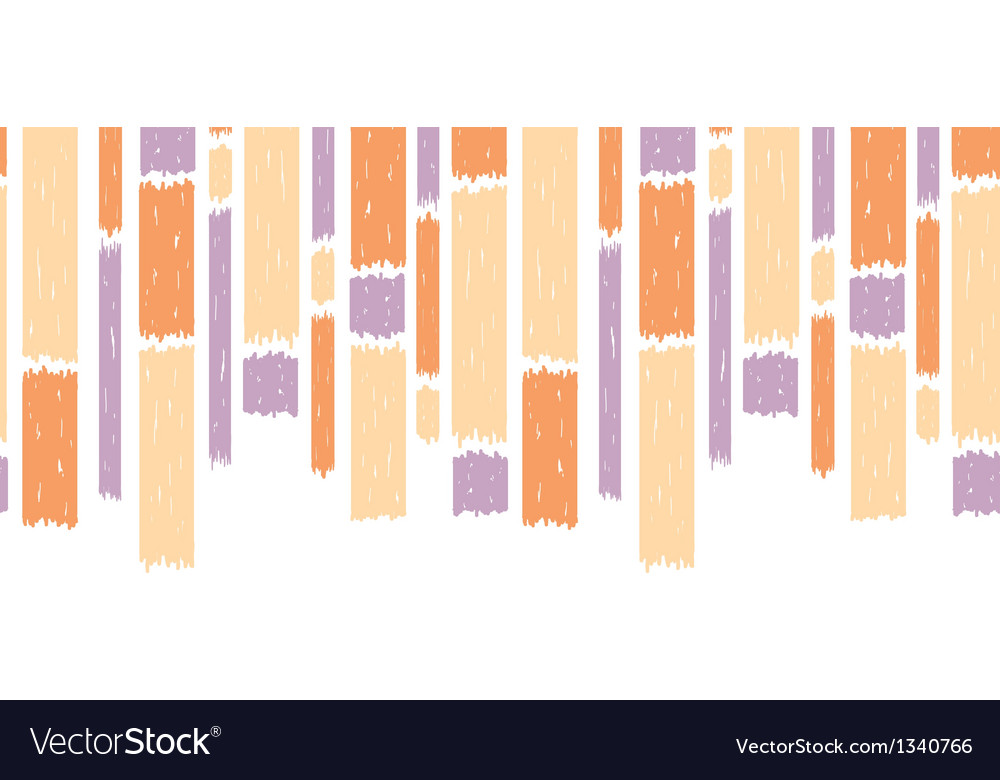 Blue paint vertical stripes seamless pattern vector | Price: 1 Credit (USD $1)