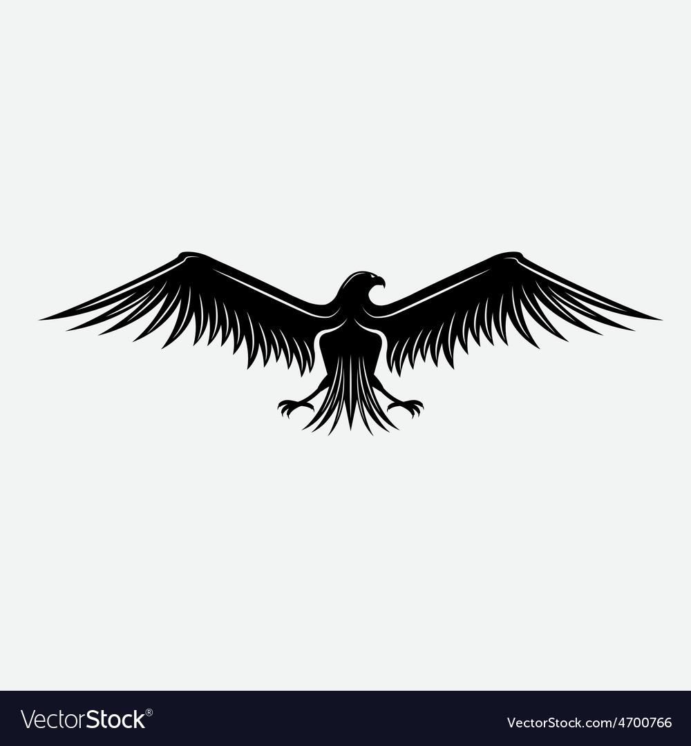 Eagle design template vector | Price: 1 Credit (USD $1)