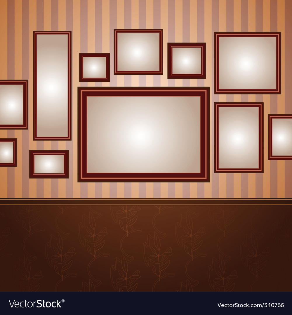 Wallpapers and frame 3 vector | Price: 1 Credit (USD $1)