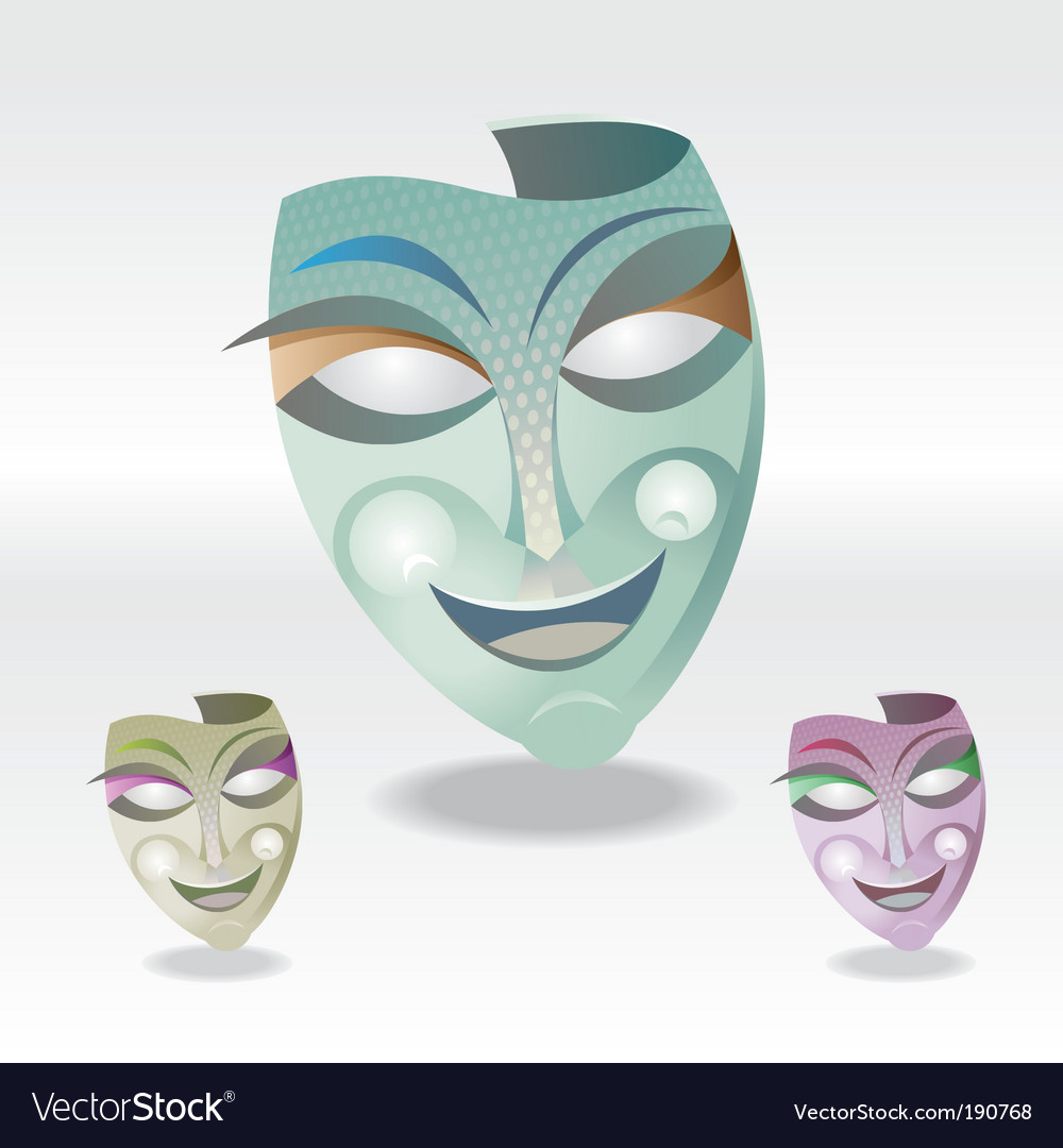Carnival mask vector | Price: 3 Credit (USD $3)