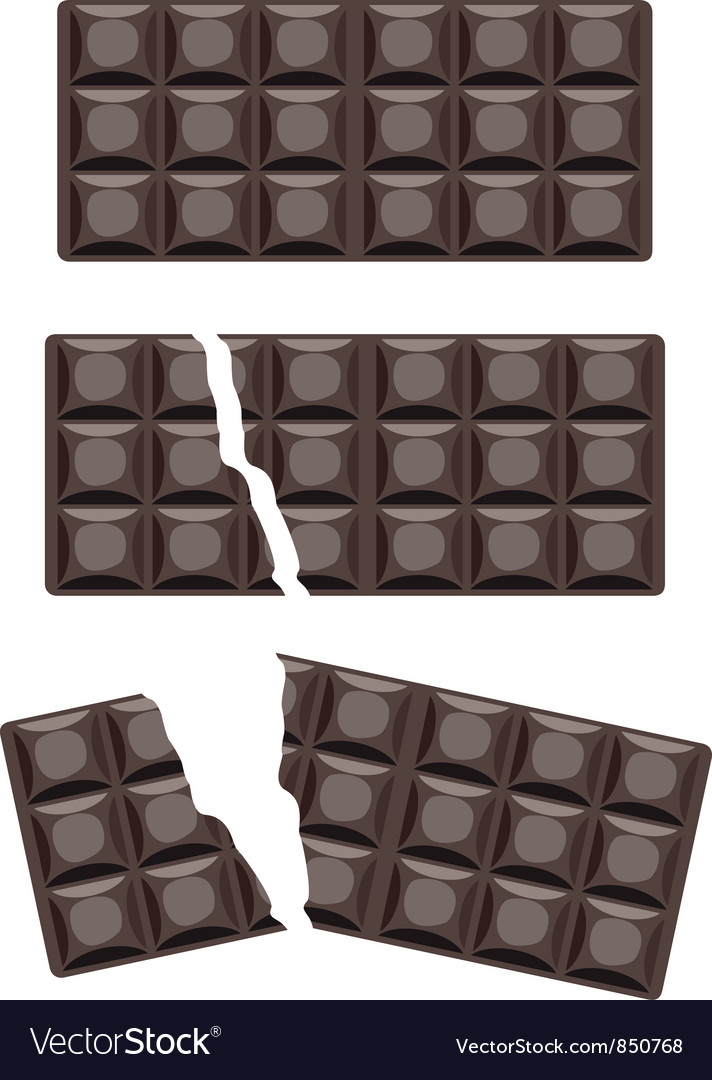 Chocolate bars vector | Price: 1 Credit (USD $1)