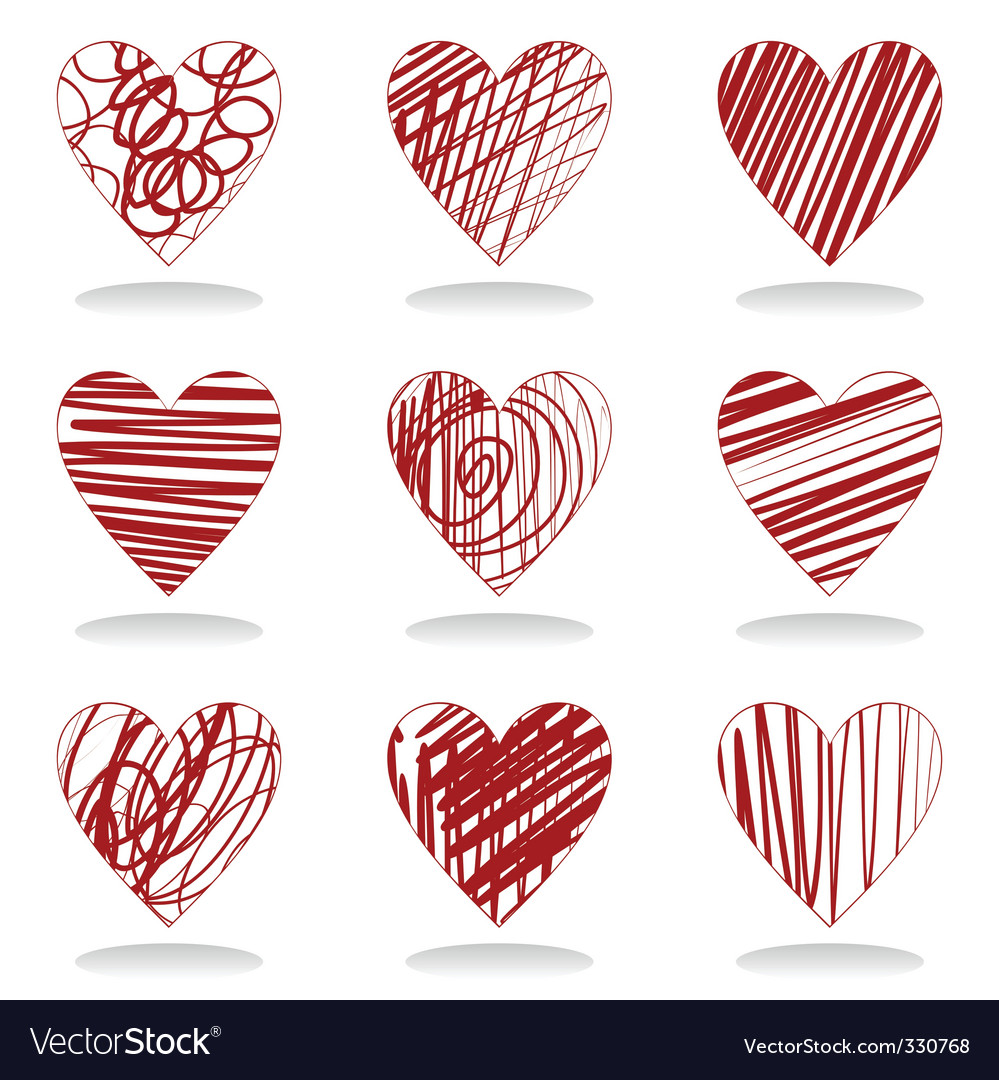 Heart icon5 vector | Price: 1 Credit (USD $1)
