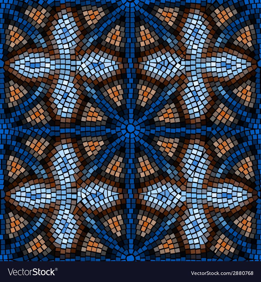 Vitrage seamless pattern vector