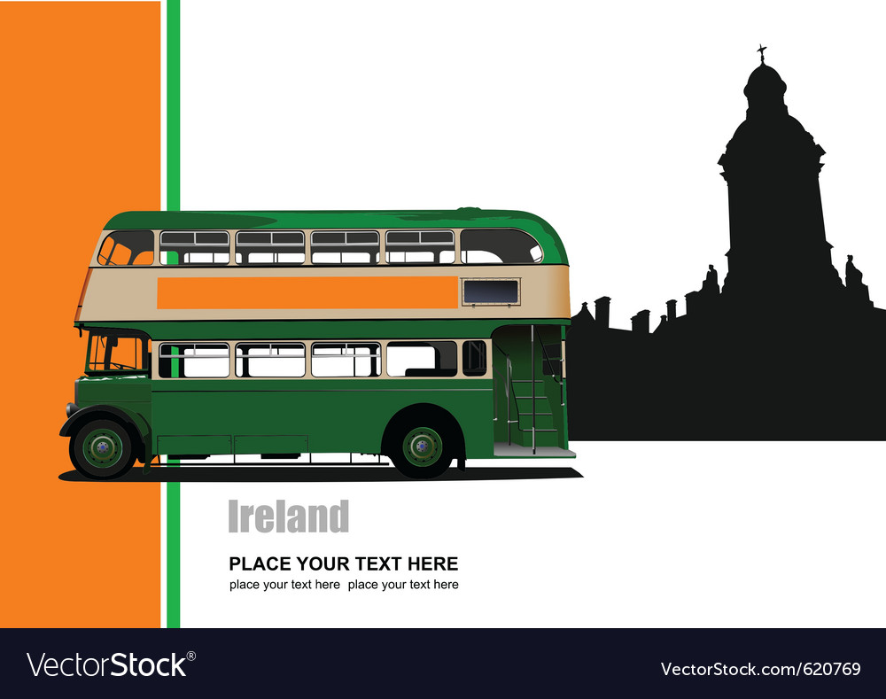 Ireland tour vector | Price: 1 Credit (USD $1)