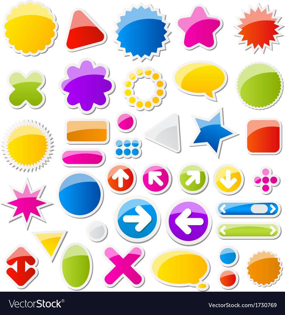 Shapes vector | Price: 1 Credit (USD $1)