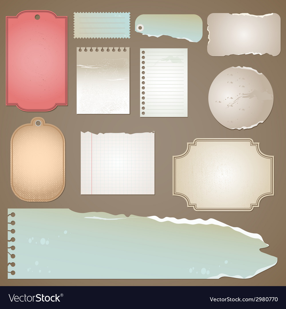 Old papper vector | Price: 1 Credit (USD $1)