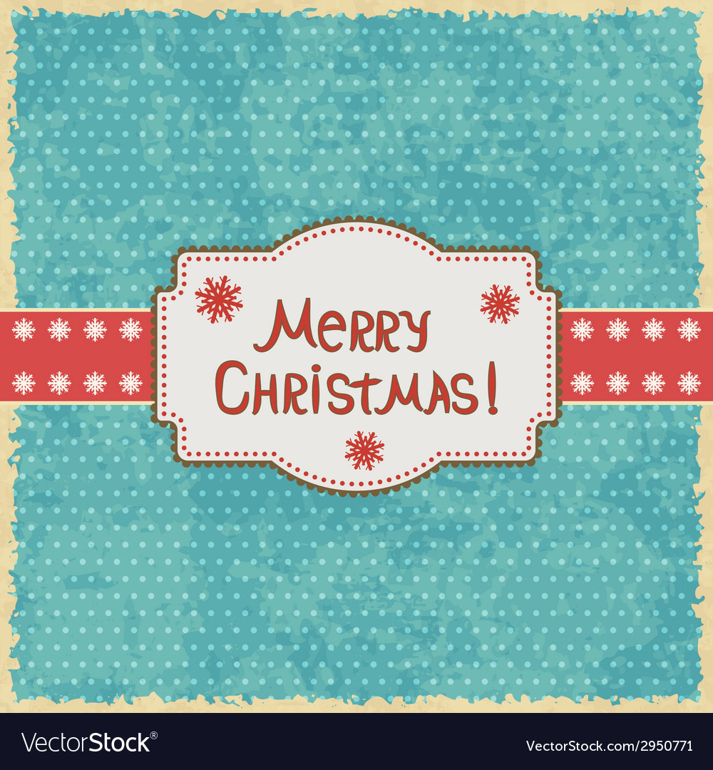 Christmas grunge background vector | Price: 1 Credit (USD $1)
