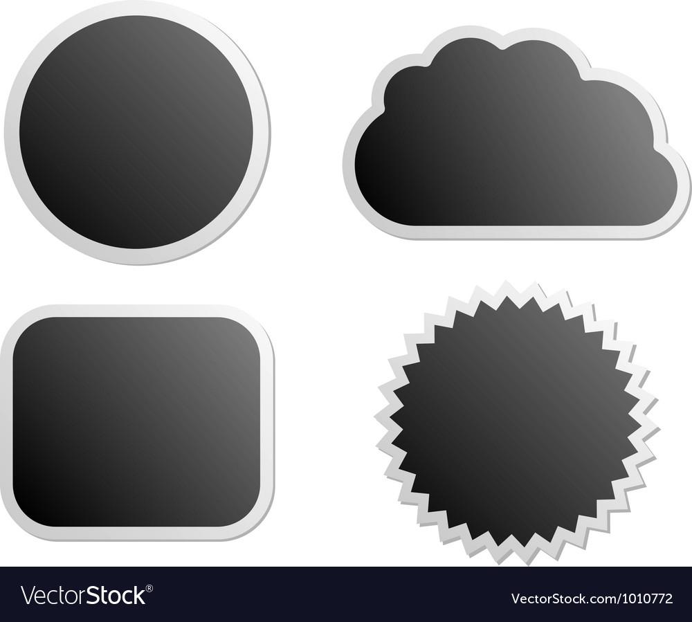 Board labels vector