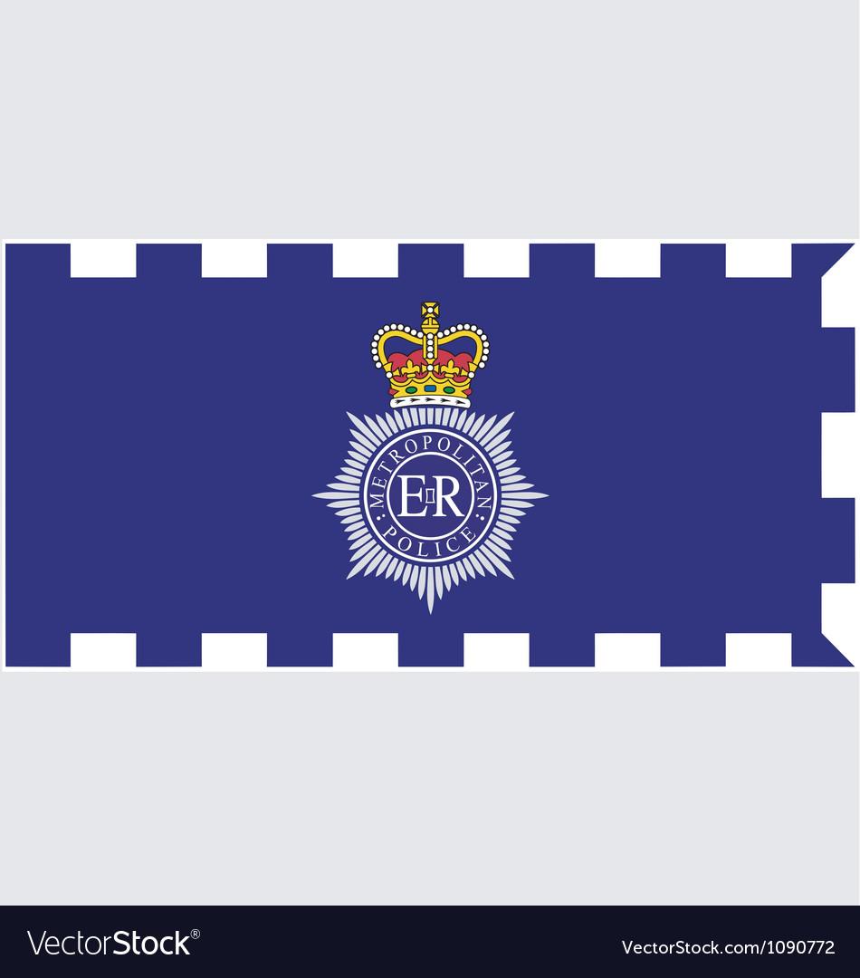 Met police flag vector | Price: 1 Credit (USD $1)