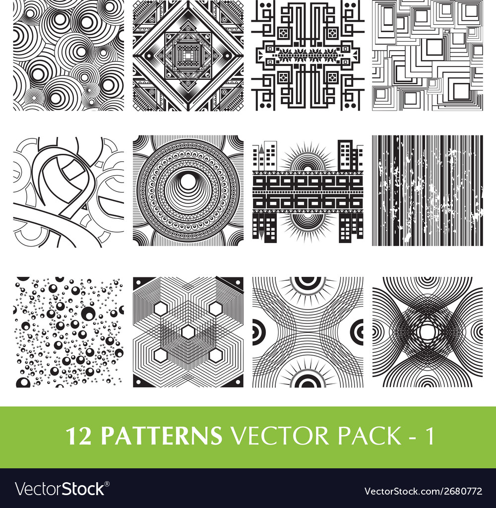 Pattern pack 1 vector | Price: 1 Credit (USD $1)