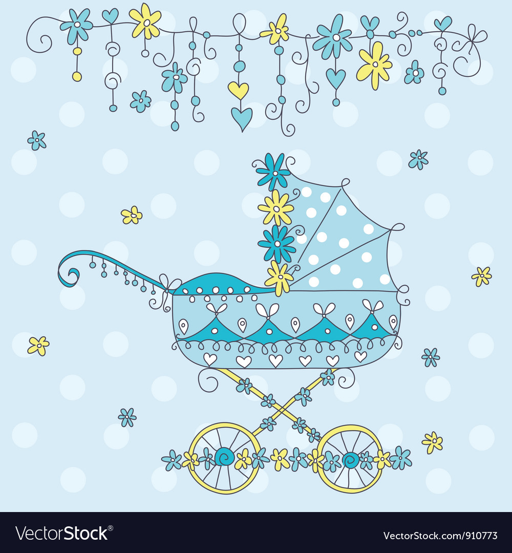 Baby carriage vector | Price: 3 Credit (USD $3)