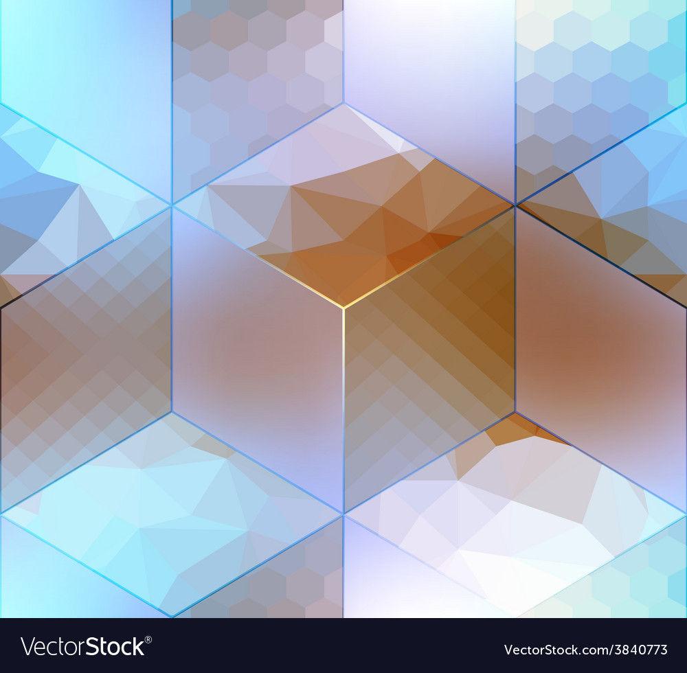 Imitation of cubes with different surfaces vector | Price: 1 Credit (USD $1)