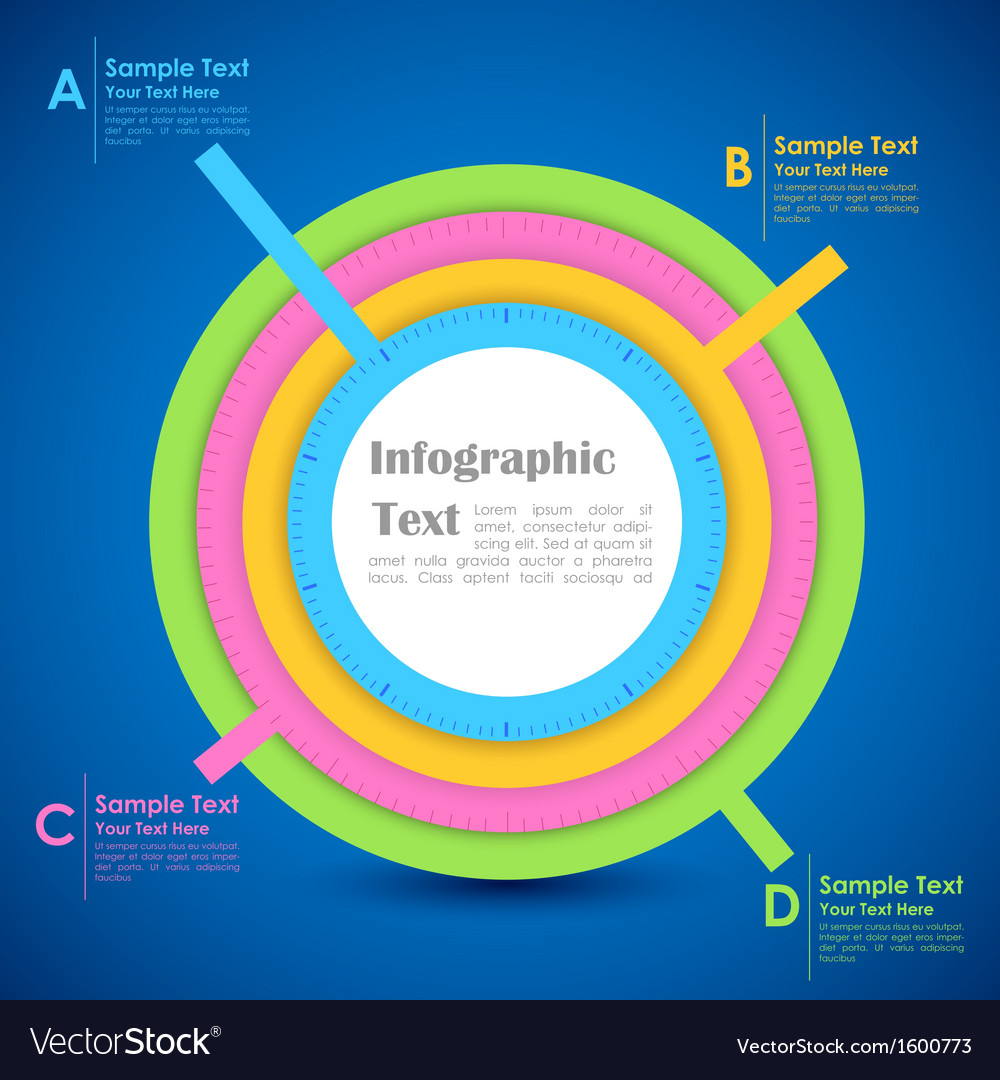 Infographics chart vector | Price: 1 Credit (USD $1)