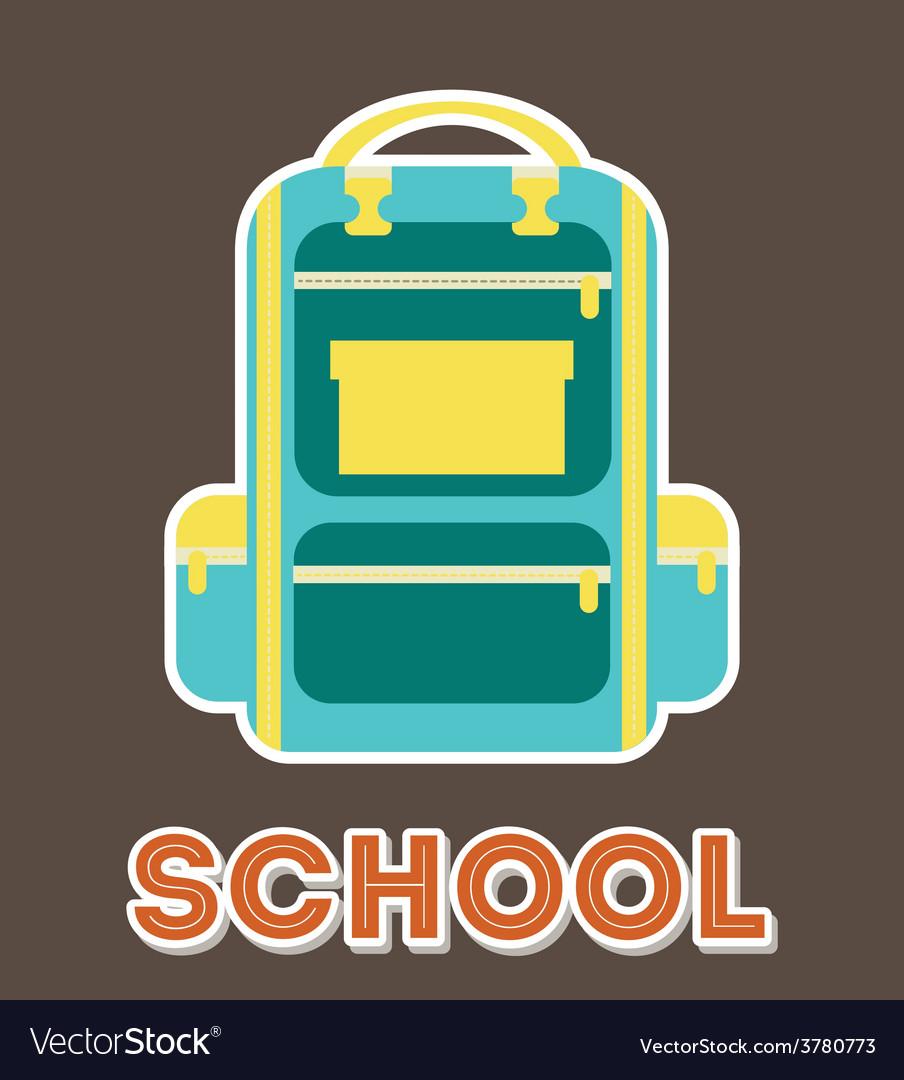 School concept vector | Price: 1 Credit (USD $1)