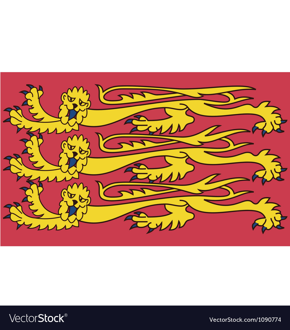Royal banner of england vector | Price: 1 Credit (USD $1)