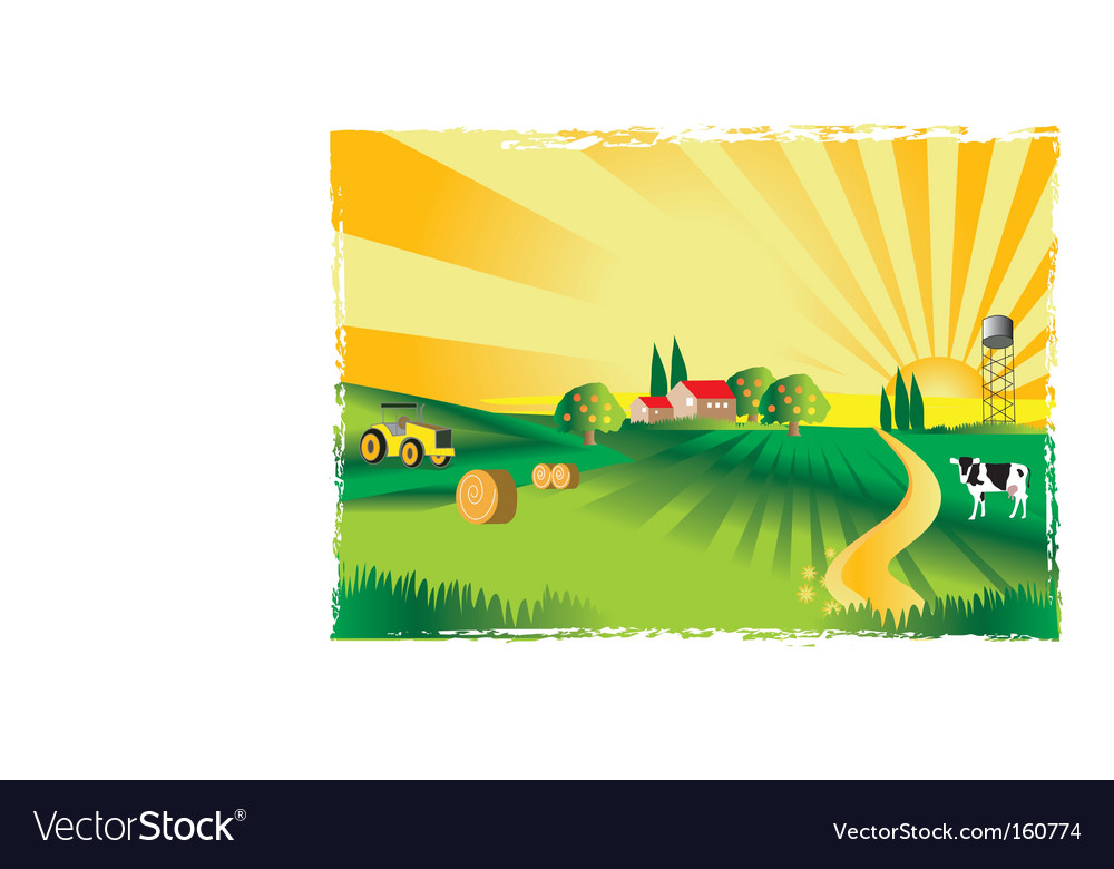 Village vector | Price: 1 Credit (USD $1)