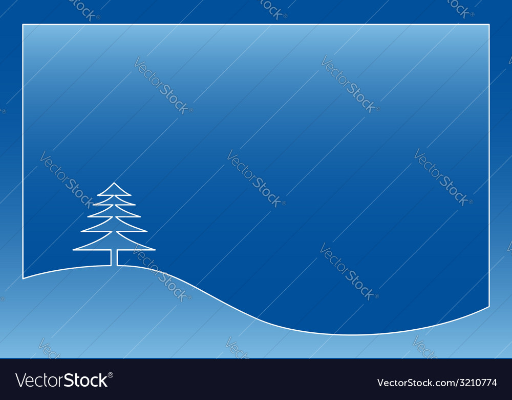 Winter or christmas greeting vector | Price: 1 Credit (USD $1)