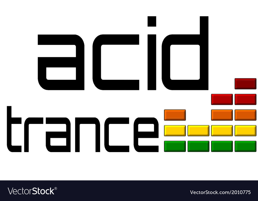 Acid trance dj equalizer dance music volume alpha vector | Price: 1 Credit (USD $1)