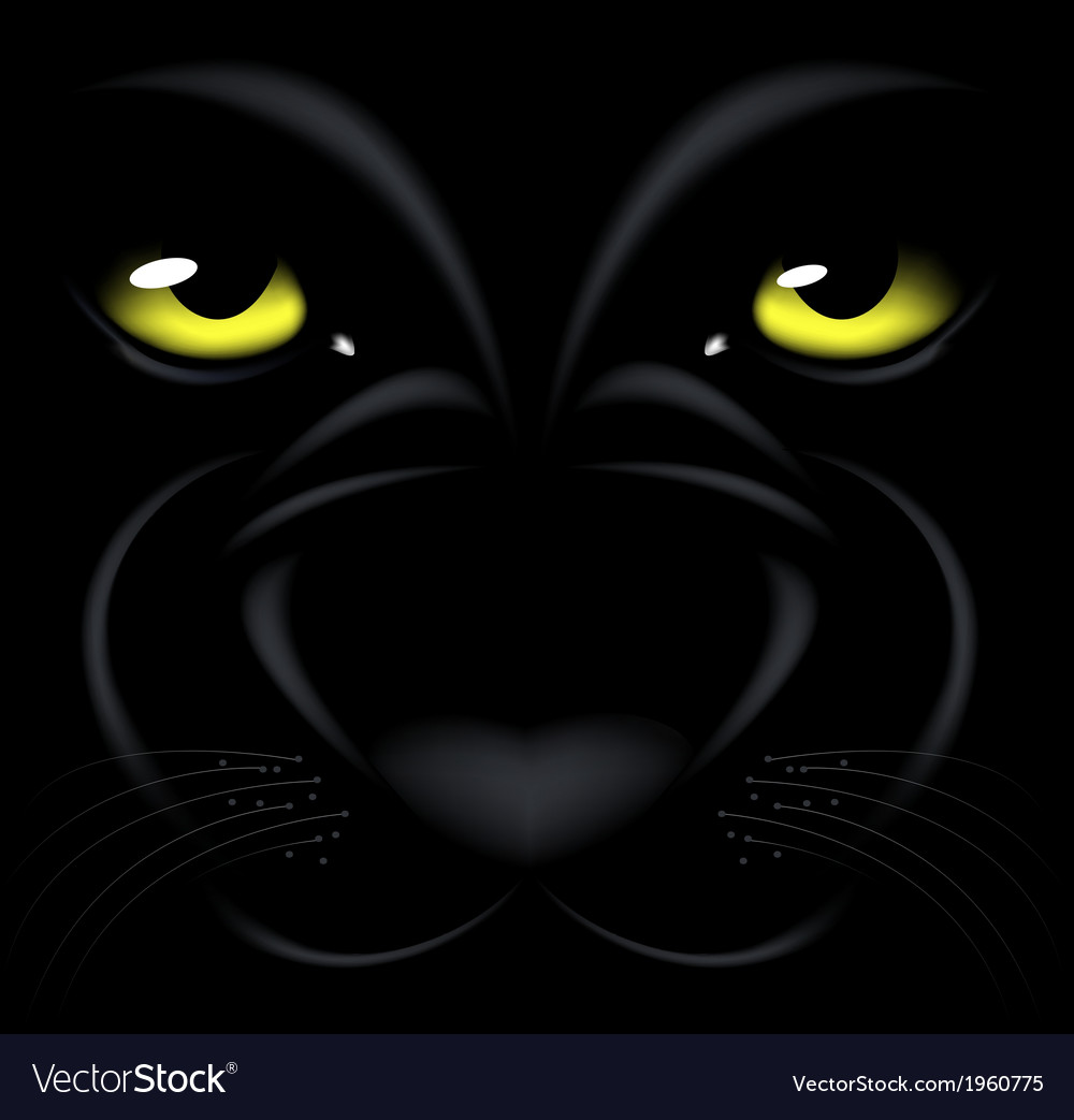 Panther eyes vector   Price: 1 Credit (USD $1)