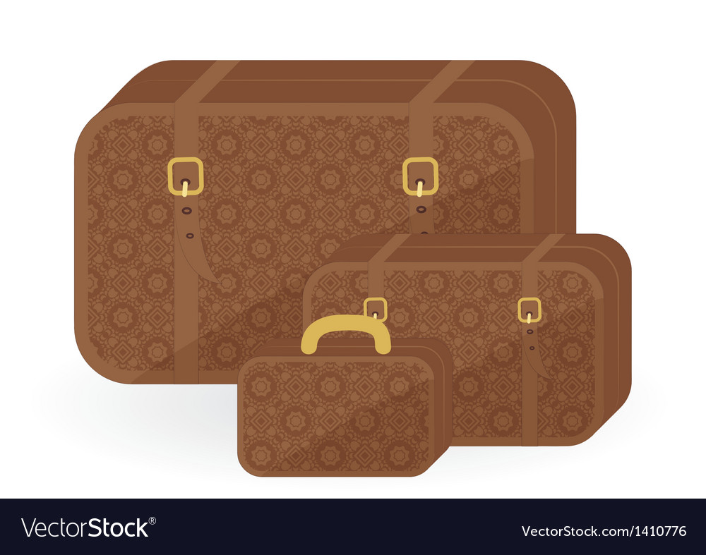 Luggage for travel vector | Price: 1 Credit (USD $1)