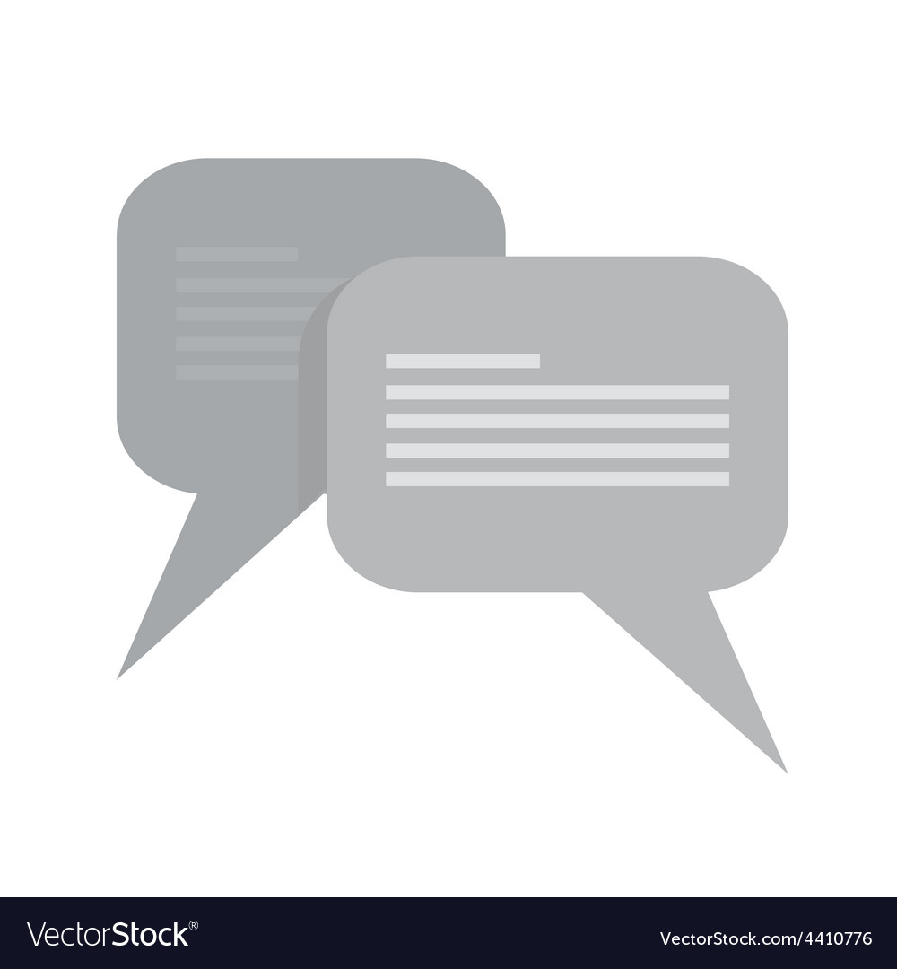 Message bubbles vector | Price: 1 Credit (USD $1)