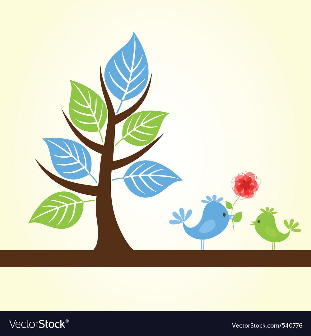 Twitter birds vector | Price: 1 Credit (USD $1)