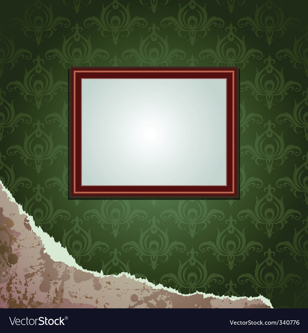 Wallpapers torn and frame vector | Price: 1 Credit (USD $1)